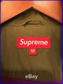 2007 SUPREME RESPECT THE WILD PARKA M tnf north face stone island shirt hoodie