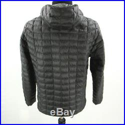 $220 NEW The North Face ThermoBall Hoodie Insulated Jacket Mens Large Black NWOT