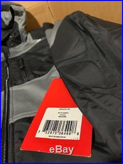$269! NWT The North Face Men's Steep Tech ST Hoodie Black Grey Jacket Coat M