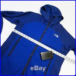$280 Men's North Face Summit L3 Ventrix Hybrid Hoodie Medium Blue NEW