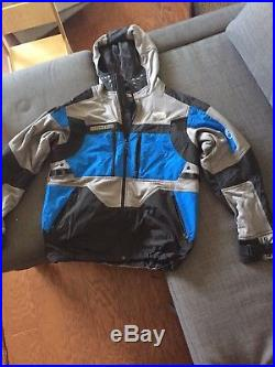 Authentic The North Face Steep Tech Jacket/Hoodie Drummer Blue Medium, New