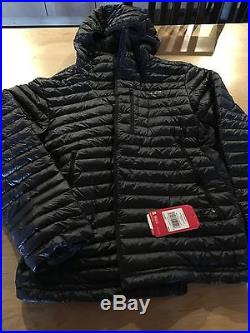 Brand New with Tags North face Down Hoodie, Black Mens size Large