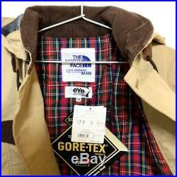 COMME des GARCONS JUNYA WATANABE NORTH FACE Gore-Tex Hoodie Mountain Jacket Men
