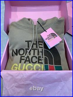 Gucci / The North Face Logo Hoodie. Size XL New With Tags