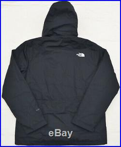 L Mens THE NORTH FACE Apex Elevation Jacket coat hood Black TNF New Large hiking