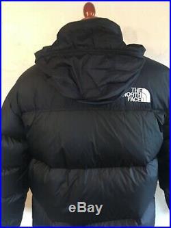 MENS THE NORTH FACE 1996 Retro Nuptse 700 Jacket, BLACK. UK SIZE MEDIUM. NWD