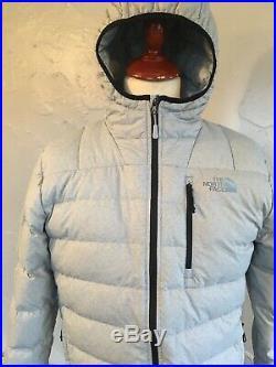 MENS The North Face Aconcagua Jacket. GREY. SIZE LARGE. NWOT. 100% AUTHENTIC