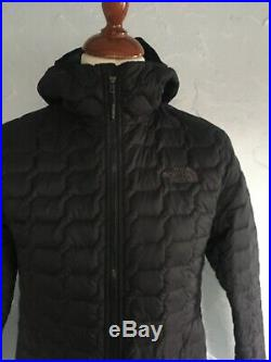 MENS The North Face ThermoBall Hoodie JACKET. SIZE SMALL. BLACK. 100%AUTHENTIC