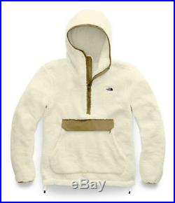 Men The North Face Campshire Pullover Hoodie White (NF0A3YRSG45), Sz SM XL