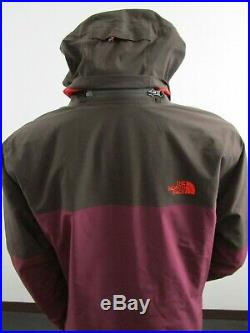 Mens L-XL TNF The North Face Therm Apex Flex Gore Tex Hooded Ski Jacket Fig