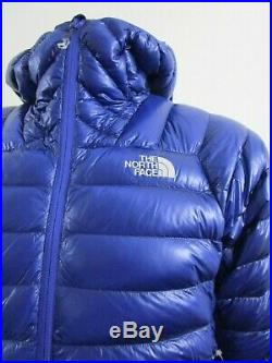 Mens S-XL TNF The North Face L3 Down Hoodie Insulated Climbing Jacket Blue