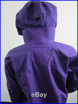Mens TNF The North Face Fuse Brigandine Gore Tex Waterproof Ski Jacket Purple