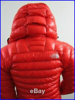 Mens TNF The North Face L3 Proprius Down Hoodie Insulated Climbing Jacket Fiery