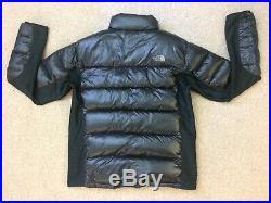 Mens The North Face Summit Series 800 Down Jacket Size L Black Pertex Quantuim