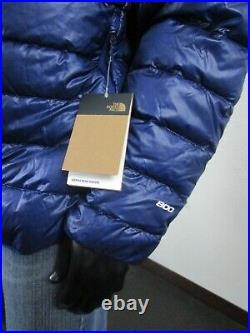 Mens XXL The North Face Sierra Peak 800-Down Insulated Hoodie Puffer Jacket Blue