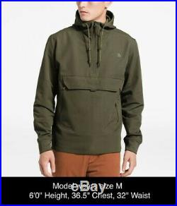 NEW 2019 Men's The North Face Tekno Ridge Pullover Hoodie Sz S Olive $129 MSRP