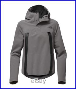 NEW $299 The North Face Women Large Apex Flex GTX Cape Anorak Gore-Tex SKI Grey