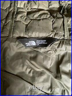 NEW North Face Mens THERMOBALL HOODIE Jacket Small New Taupe Green Camo Print