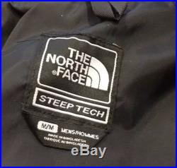 NEW North Face Steep Tech Work Jacket Black/Red supreme hoodie tnf vtg trans
