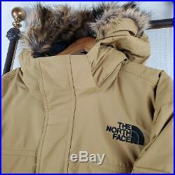 NEW THE NORTH FACE 3XL McMurdo III 550 Down Khaki Fur Hood Parka Coat Mens $370