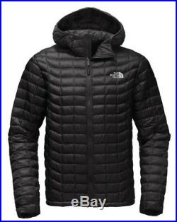 NEW The North Face Men's Thermoball Insulated Hoodie Hoody TNF Black XL