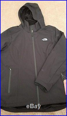 d3d932d0b NEW The North Face Shelbe Raschel Hoodie Jacket Black Size XXL 2XL ...