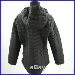 NEW The North Face Thermoball Hoodie Jacket Womens XL Black Matte NWT $220