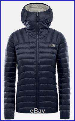 NEW Women's The North Face Hometown Hoodie UK Size Medium Navy Blue Down Jacket