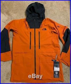 NWT 2019 Men The North Face A-CAD Futurelight Jacket Large Orange Ski Snow