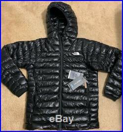 NWT 2019 Mens The North Face Summit L3 Down Hoodie Jacket Medium Black