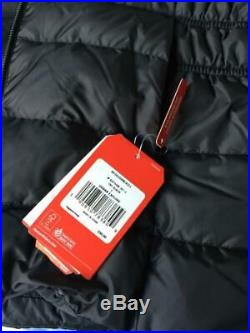 NWT $230 The North Face Women's Gotham II Hooded Down Insulated Black Jacket LG