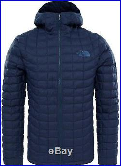 NWT Men Matte Navy The North Face ThermoBall Insulated Jacket Hoodie size Large