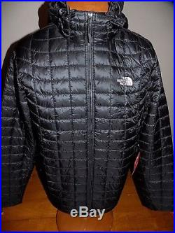 NWT Men's The North Face Thermoball Hoodie Jacket PrimaLoft TNF BLACK XL $220