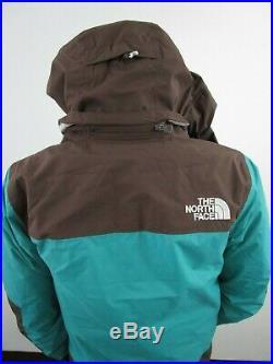NWT Mens TNF The North Face Bandon Tri Down Hooded Waterproof Jacket Green