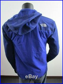 NWT Mens TNF The North Face L3 Ventrix Hybrid Hooded Insulated Jacket Blue