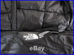 NWT Mens TNF The North Face Thermoball Hoodie Insulated Hooded Jacket Black