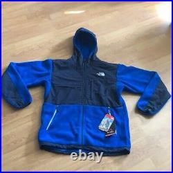 NWT Mens The North Face Denali Hoodie Jacket Medium Blue Fleece
