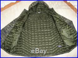NWT NORTH FACE ThermoBall PrimaLoft Hoodie Jacket SZ XXL Rosin Green Glamo Print