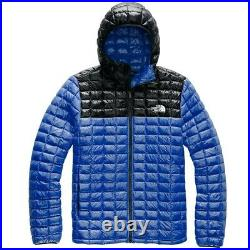 NWT THE NORTH FACE THERMOBALL ECO HOODIE TNF Blue/Black MSRP $220