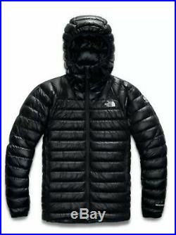 NWT The North Face Men Summit L3 Down Hoodie Jacket Color Black Size Large