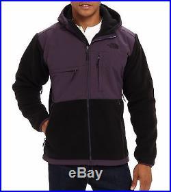 NWT The North Face Men's Denali Hoodie Jacket Outwear, Black Purple, L, $199.00