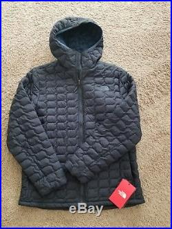 NWT The North Face Men's LARGE Thermoball Full Zip Jacket Puffer NAVY Hoodie