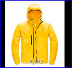 NWT The North Face Proprius L3 Summit Down Hoodie Men's Jacket Sz M Yellow