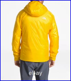 NWT The North Face Proprius L3 Summit Down Hoodie Men's Jacket Sz S Yellow