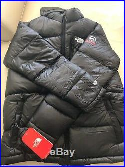 NWT The North Face Summit Series 800 Down Hoodie Mens Jacket Black size-L