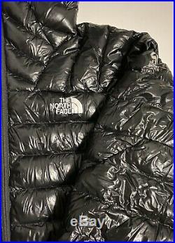 NWT The North Face Summit Series L3 800 Down Hoodie Mens Jacket Black Slim Fit