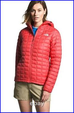 NWT The North Face Thermoball Eco Hoodie Jacket Sz 2XL XXL Org $220 Red Matte
