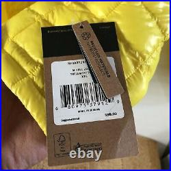 NWT The North Face Thermoball Eco Hoodie Jacket Sz 2XL XXL Yellow & Black