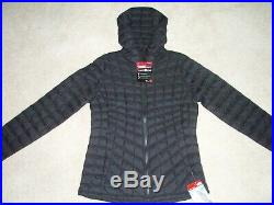 NWT -The North Face Thermoball Hoodie -Women's Medium -Black Matte -Retail $220
