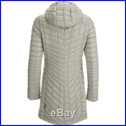 NWT The North Face Women's Thermoball Hoodie Parka Coat. Dove Grey. XL